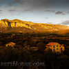 The foothills of the Pyrenees Mountains