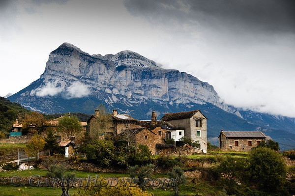 A small village near Ainsa in the Pyrenees