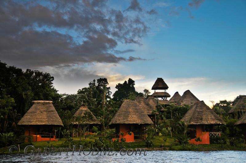 The Napo Lodge, Amazonia, Ecuador.