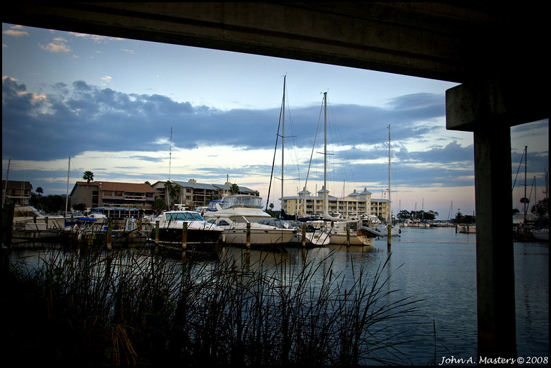 Melbourne Harbor Marina in Melbourne, Florida.
