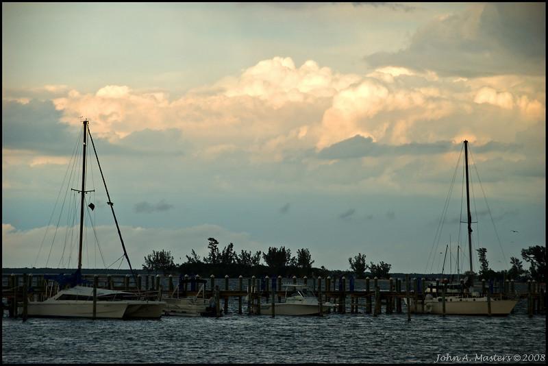 Indian River Lagoon.  Taken at Riverview Park in Sebastian, Florida.