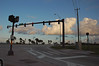 Cool clouds and sky at the intersection of John Conlan Blvd. and US1 in Palm Bay, Florida.