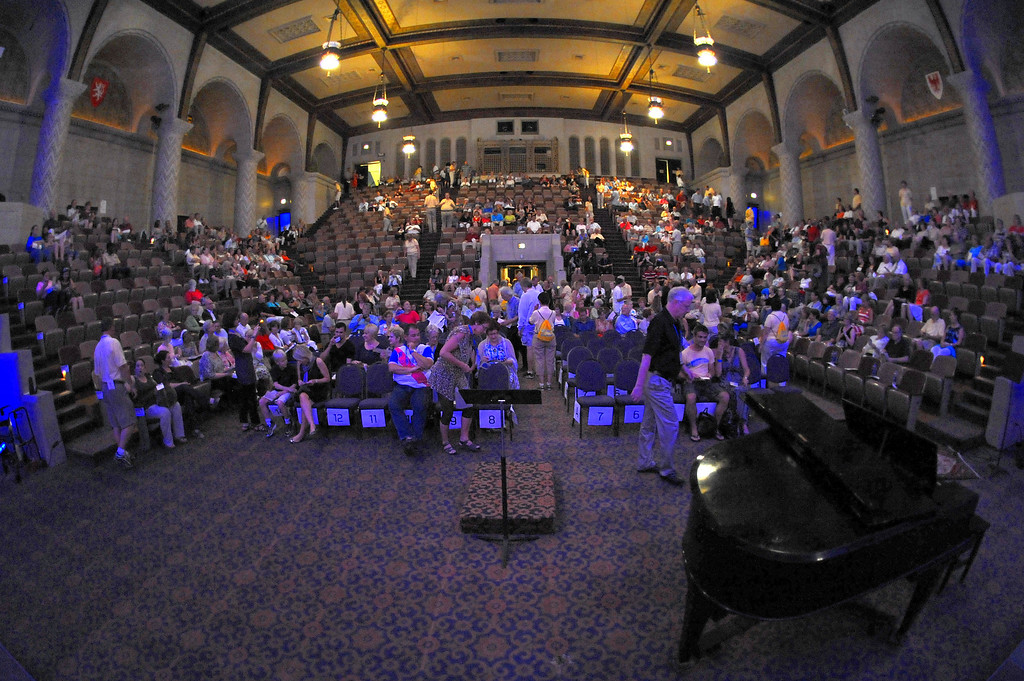 Cincinnati Masonic Center Fisheye