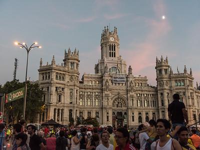 La Vuelta Espana, Madrid