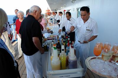 Capt. Dag's sunset cocktail special