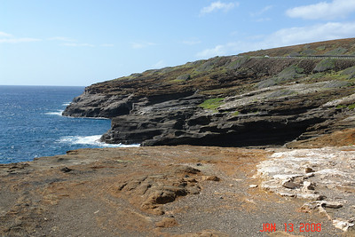 the drive out to the east side of Oahu - right past Hanauma Bay