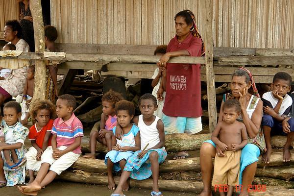 Madang, Papua, New Guinea -- Feb. 17, 2008 WC