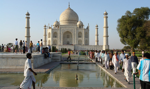 Taj Mahal, April 26 & 27.
