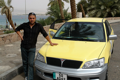 My cab driver.  Cost was $20 and I think it was for 1 1/2 hrs.  He didn't do a whole lot of driving but he was a nice guy.  He lives in Petra and would drive there for $100 or some other negotiated rate.