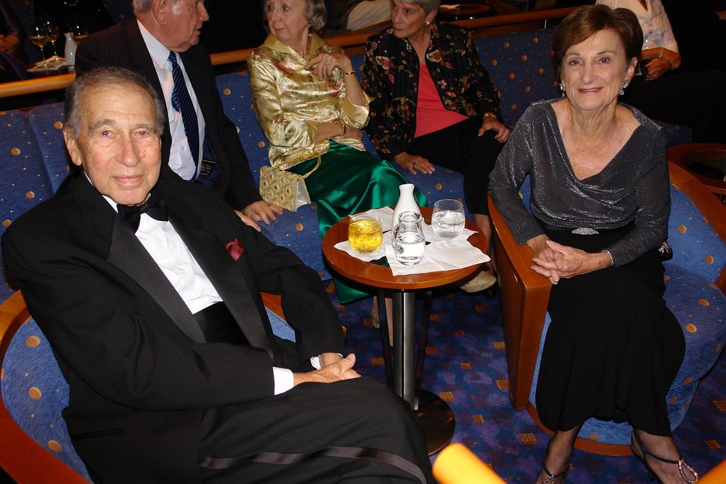 Good buddies, Stan & Elaine.