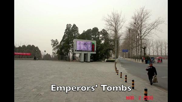 Emperors' Tombs, China