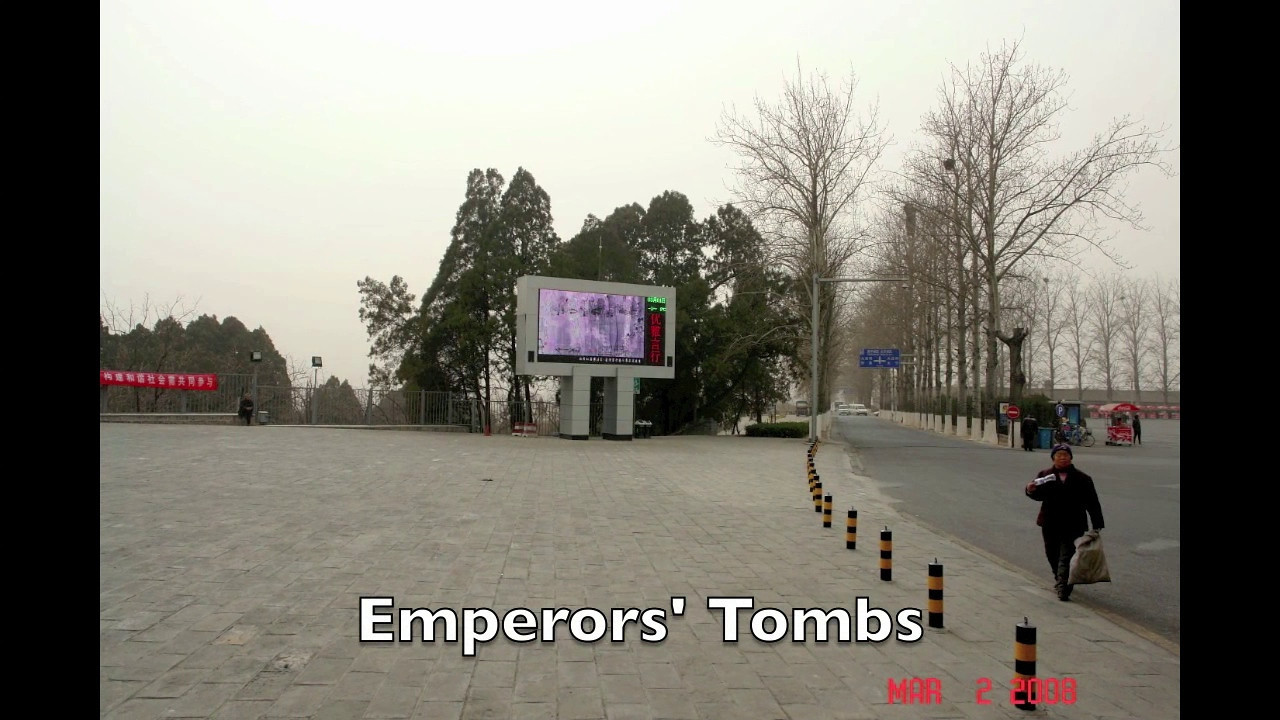 Emperors' Tombs, China