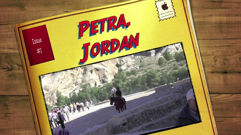 Petra, Jordan, Day 1 while on World Cruise