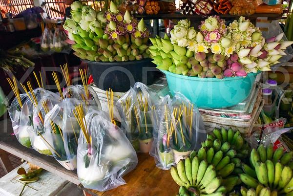 Cambodian Folded Lotus Flowers