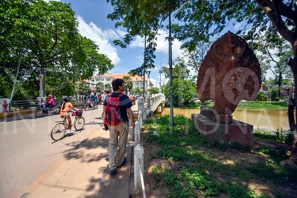 Bridge in Siem Reap