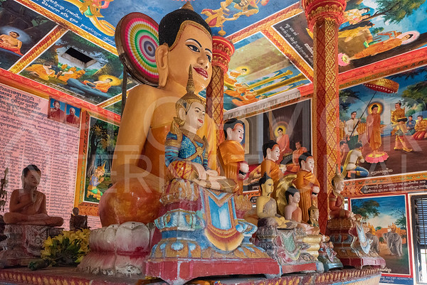 Modern Buddha Statues at Lolei