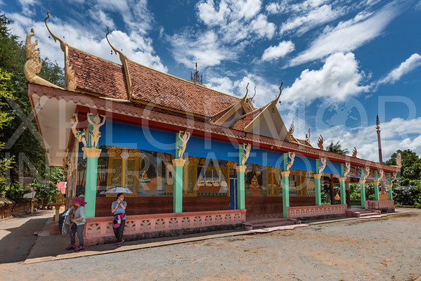 Buddhist Temple at Wat Bakong