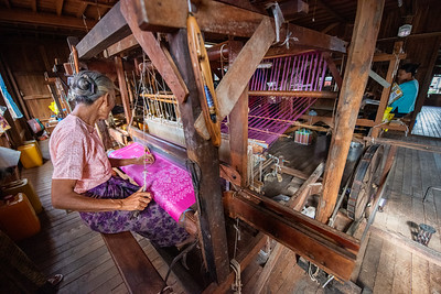 Lotus Silk Thread Making