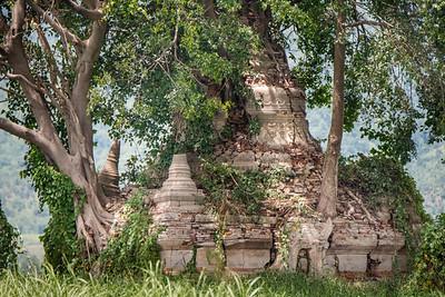 Ancient Stone Stupa
