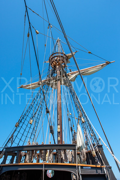 Cabrillo's San Salvador Sailing Ship