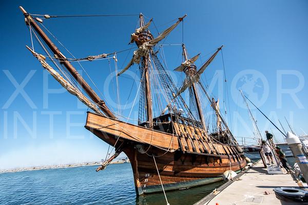 Cabrillo's San Salvador Sailing Ship