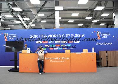 Media room Spartak Stadium
