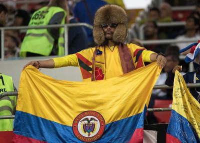 Colombia fan