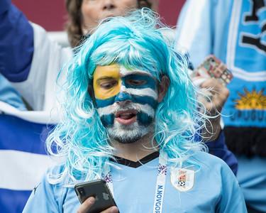 Uruguay fan