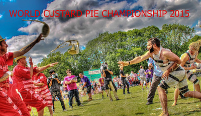 World Custard Pie Championship 2015,