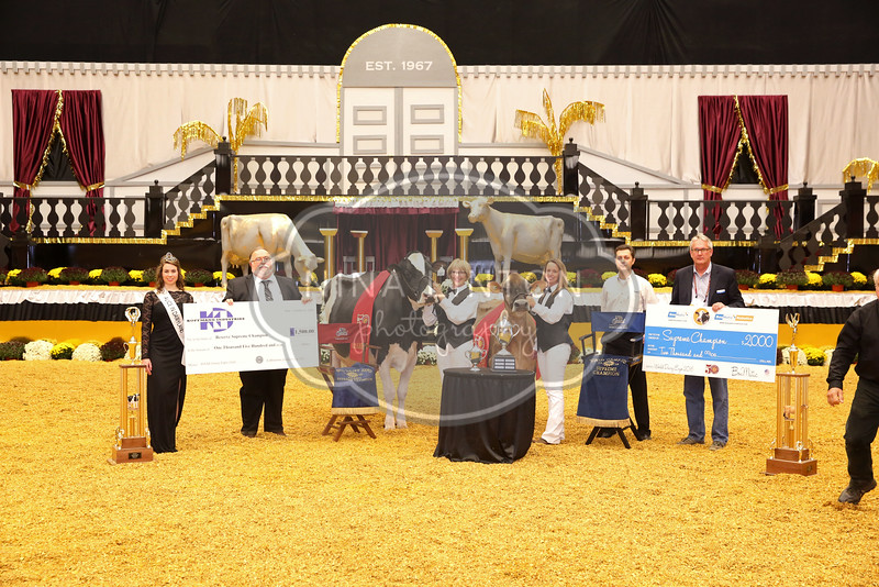 World Dairy Expo Supreme Ceremony 2016