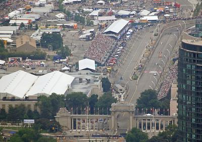 Toronto Grand Prix racing - Toronto, Ontario.