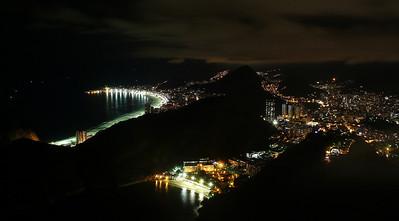 Rio at night - Rio de Janeiro, Brazil (2007). Copyright © 2007 Alex Emes