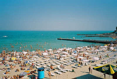 Black Sea - Odessa, Ukraine.