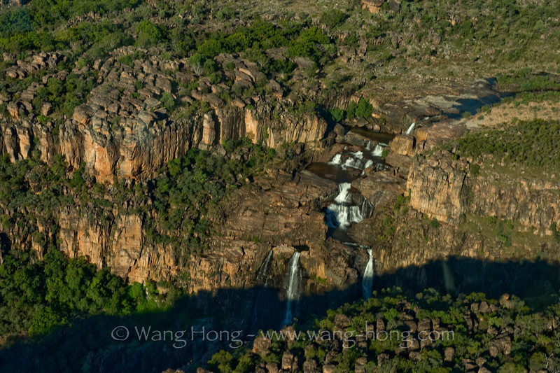 Twin Falls in stone country in Kakadu National Park in Northern Territory.