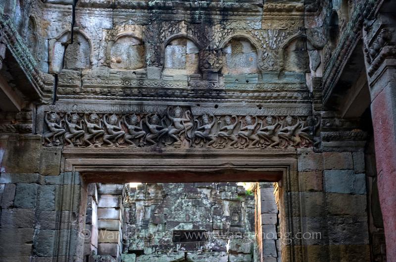 Apsaras at the Hall of Dancers, Preah Khan