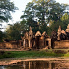 Banteay Srei at sunrise