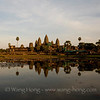 Angkor Wat shortly before sunset