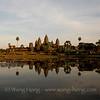 Angkor Wat shortly before sunset
