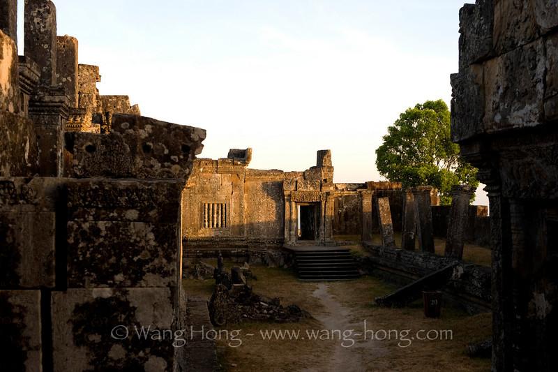 Preah Vihear in early morning