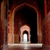 Mosque in Taj Mahal.