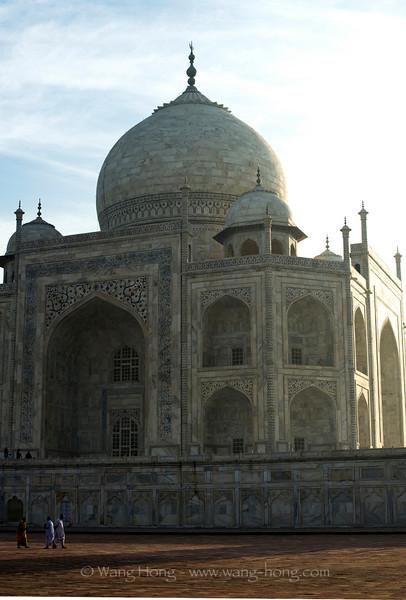 Taj Mahal from side
