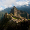 Machu Picchu in early morning.