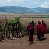 In a maasai village in the Ngorongoro conservation area