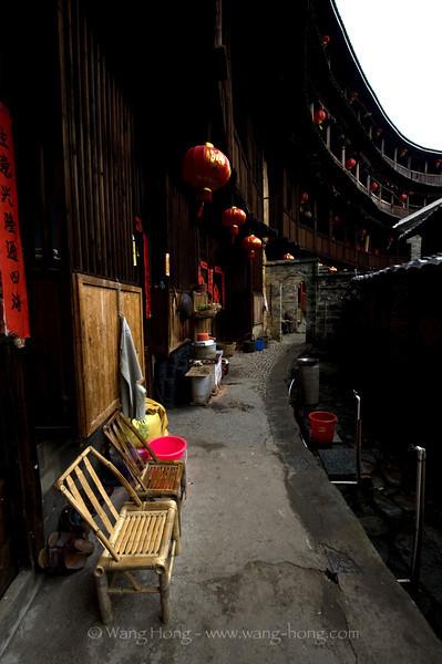Chengqi Lou, Yongding Country