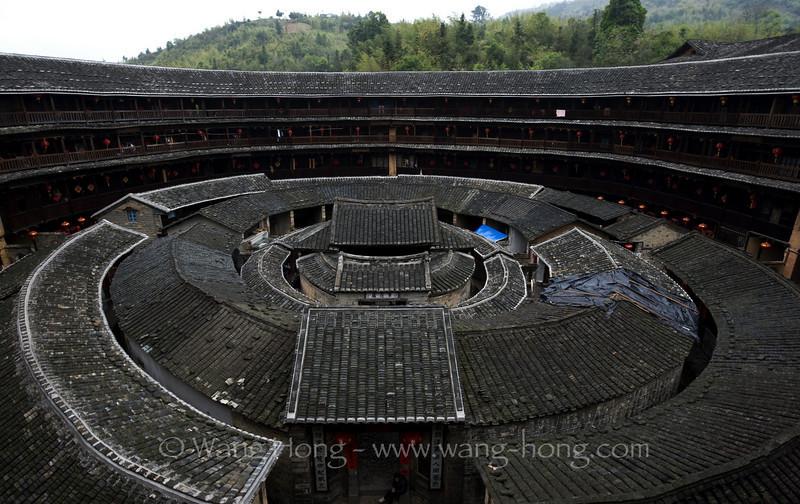 Chengqi Lou, Yongding County
