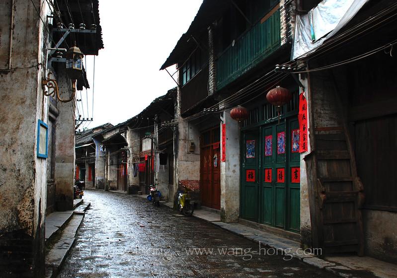 Xingping, after rain
