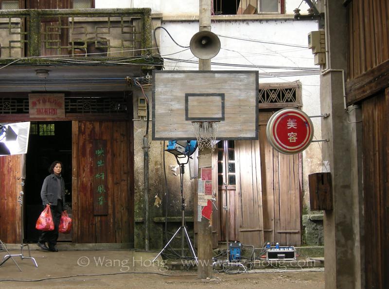 A photo studio in Xingping, Guangxi Province.