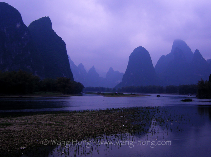Xingping, Guangxi - the landscape that appears on RMB20yuan note.