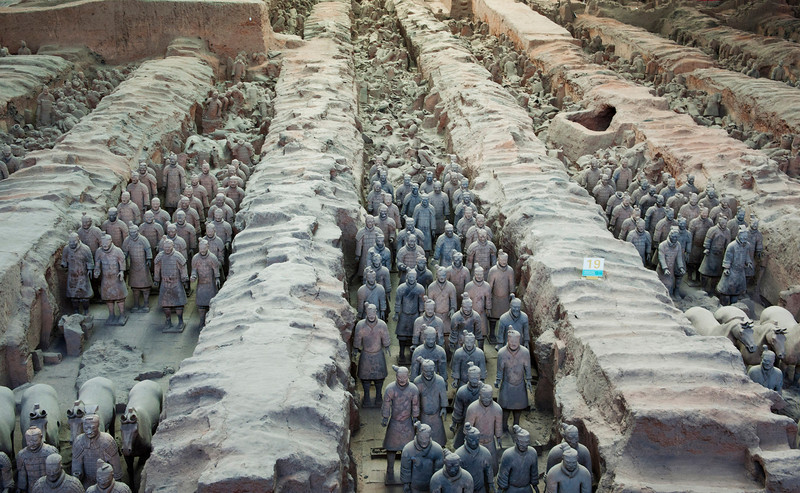 Terracotta Warriors Pit 1, 兵马俑1号坑