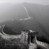 Mutianyu section of the Great wall on a foggy winter day, 2006 慕田峪长城